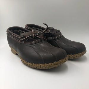 "Mens L.L. Bean ""Bean Boots"" Low Top Boots Size 9"